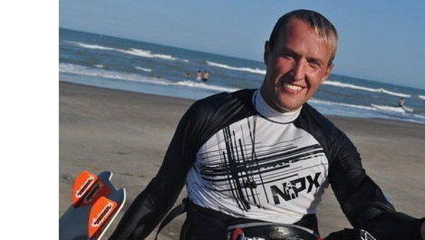 Член сборной России по парусному спорту в дисциплине кайтбординг Иван Доронин