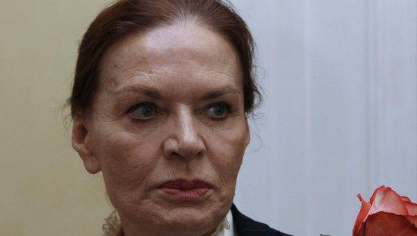 Актриса Людмила Чурсина