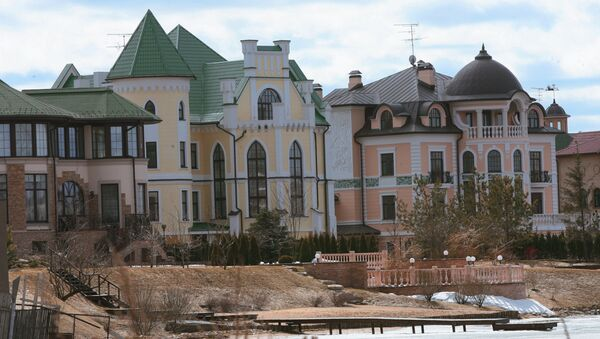 Коттеджный поселок в Подмосковье. Архивное фото