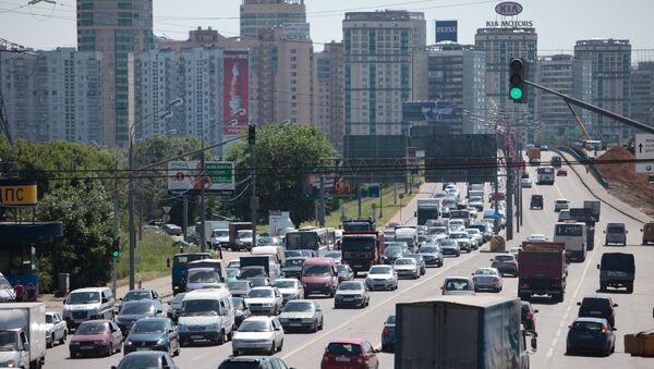 Ленинградское шоссе. Архивное фото