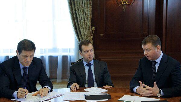 Встреча Дмитрия Медведева с руководителями профсоюзов