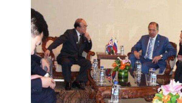 Встреча министров иностранных дел России и Северной Кореи в Индонезии
