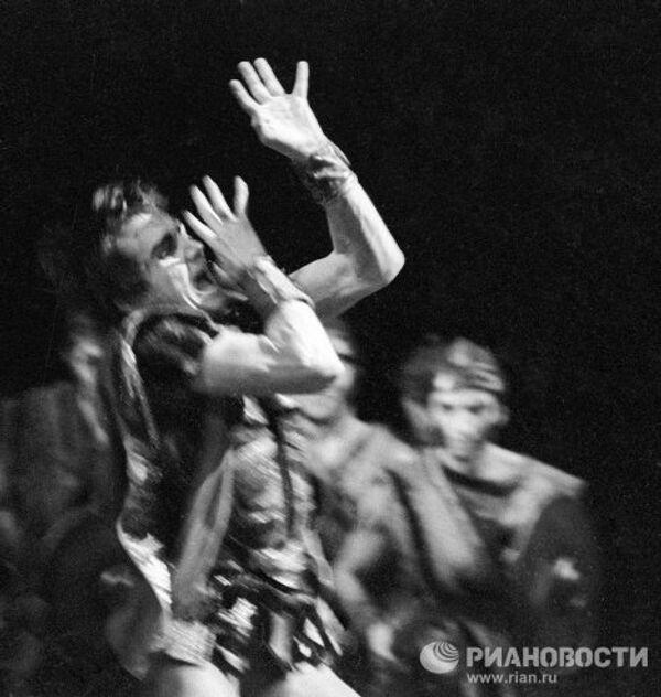 Солист ГАБТа Лиепа в балете Спартак