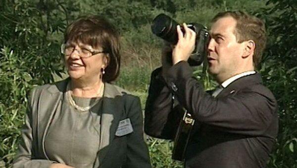 Один из красивейших храмов России попал в объектив фотоаппарата Медведева