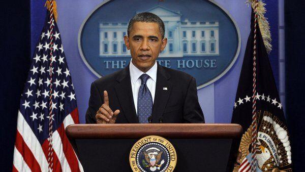 Президенть США Барак Обама