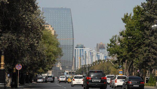 Проспект Нефтяников в Баку. Архивное фото