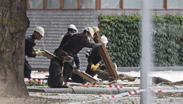 Полиция Норвегии ведет расследование на месте теракта в Осло
