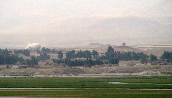Афганско-американская военная база в провинции Лагман. Архив