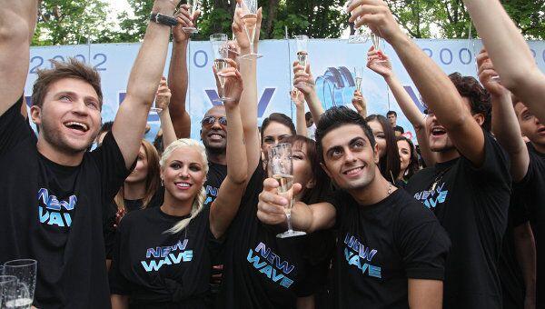 Открытие международного конкурса Новая волна в Юрмале