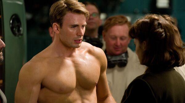 Кадр из фильма Первый мститель