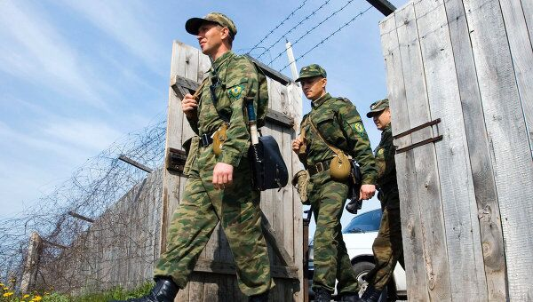 МВД Киргизии сообщает о перестрелке на узбекской стороне границы