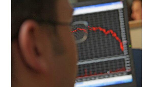 Рынок акций РФ корректируется вниз в направлении 1500 пунктов по ММВБ