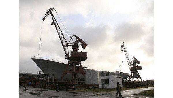Завод Янтарь в бывшем Кенигсберге специализируется на кораблях среднего класса