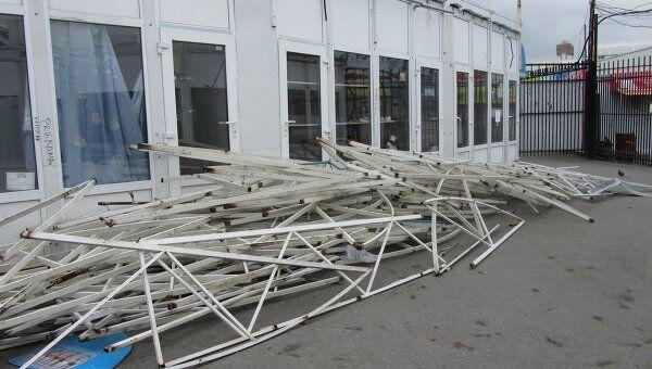 Закрытие ярмарки в Лужниках