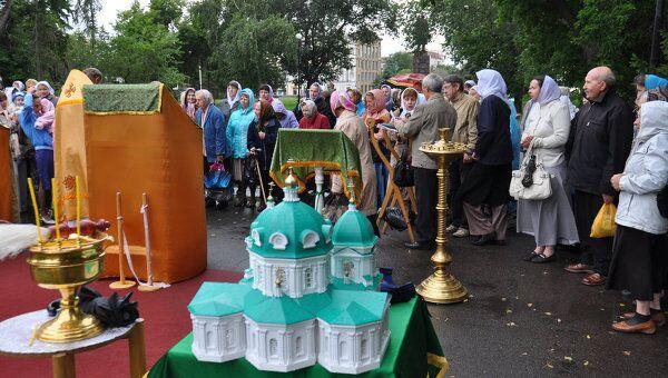 Крестный ход в честь Илии Пророка в Омске