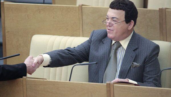 Иосиф Кобзон на заседании Госдумы РФ. Архив