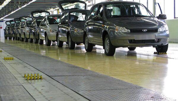Цех сборки автомобилей Калина на АвтоВАЗе