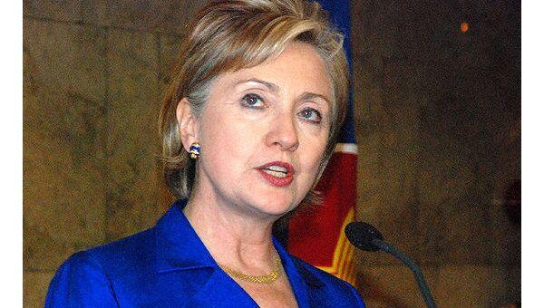 Госсекретарь США Клинтон отменила свой визит в Москву