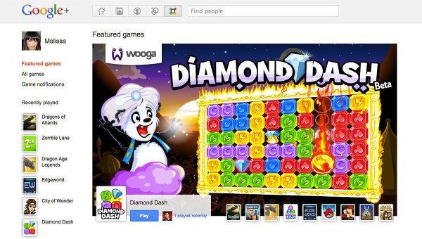 Google добавила игры в сервис социальной сети Google+