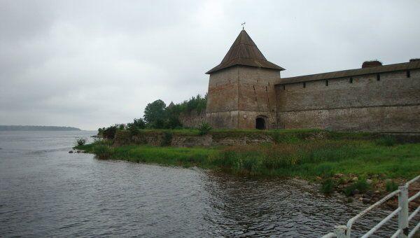 Воротная башня Шлиссельбургской крепости