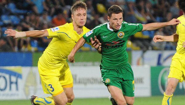 Игровой момент матча Ростов - Кубань