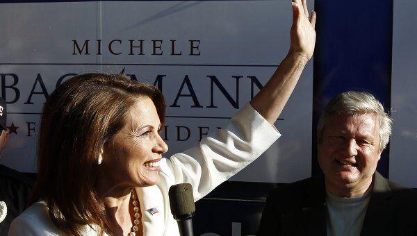Член палаты представителей конгресса США Мишель Бакман
