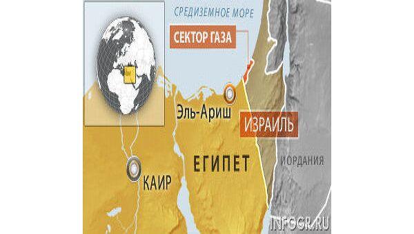 Взрыв газопровода на севере Синая в Египте