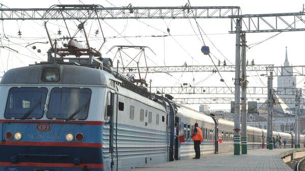 Запуск международного туристического поезда по маршруту Москва – Пекин
