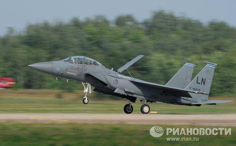 Американский всепогодный тактический истребитель McDonnell Douglas F-15 Eagle