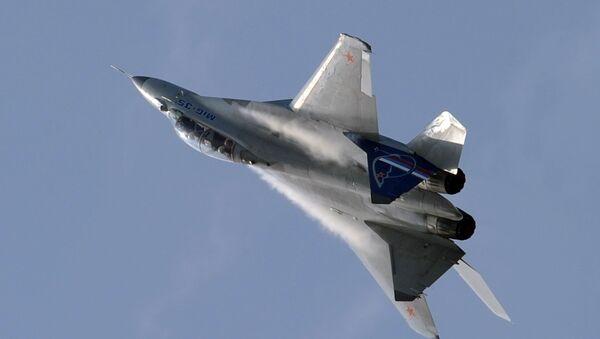 Российский многоцелевой истребитель МиГ-35. Архивное фото