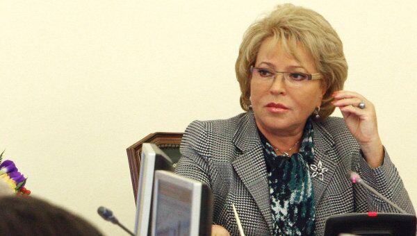 Валентина Матвиенко проводит последнее перед муниципальными выборами заседание правительства Петербурга