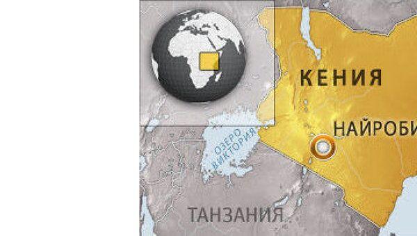 Кения. Карта