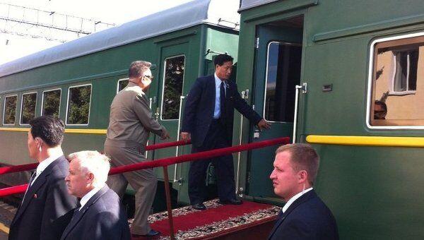 Ким Чен Ир покидает Приамурье