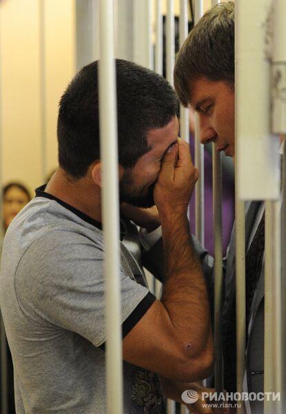 Замоскворецкий суд Москвы рассмотрит вопрос об аресте самбиста Расула Мирзаева