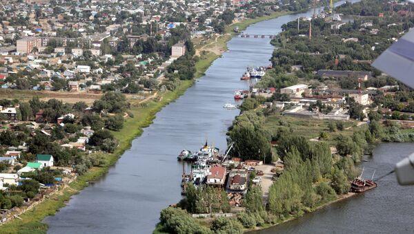 Вид на Астрахань. Архивное фото