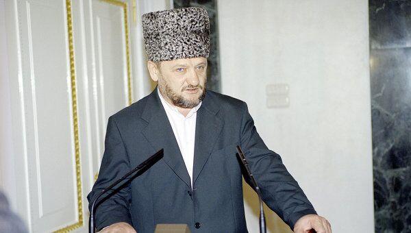 Глава администрации Чечни Ахмат Кадыров. Архив