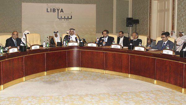 Встреча международной контактной группы по Ливии в столице Катара Дохе