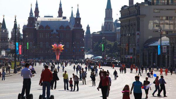 День города Москвы. Архив
