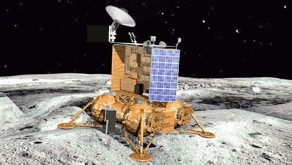 Посадочный модуль зонда Луна-Глоб