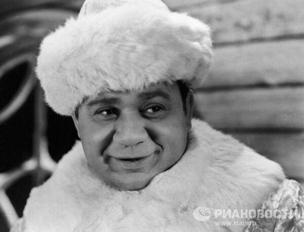 Леонов в сцене из фильма Зигзаг удачи