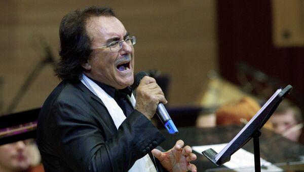 Итальянский певец Аль Бано. Архивное фото