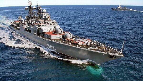 Большой противолодочный корабль Адмирал Пантелеев