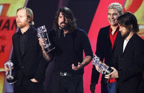 Группа Foo Fighters на вручении наград MTV Video Music Awards
