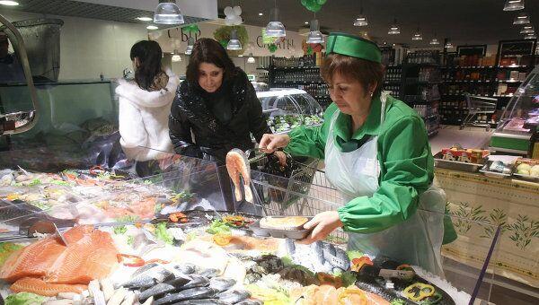Супермаркет Зеленый Перекресток в Москве