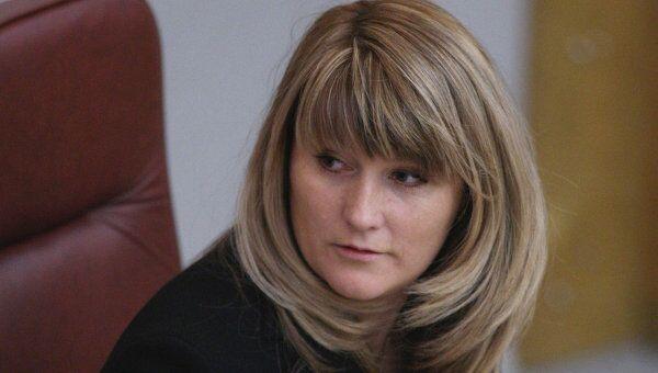 Светлана Журова в Госдуме РФ. Архив