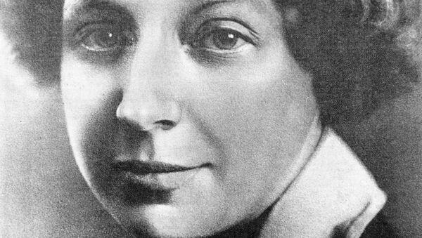 Поэтесса Марина Цветаева. Архивное фото