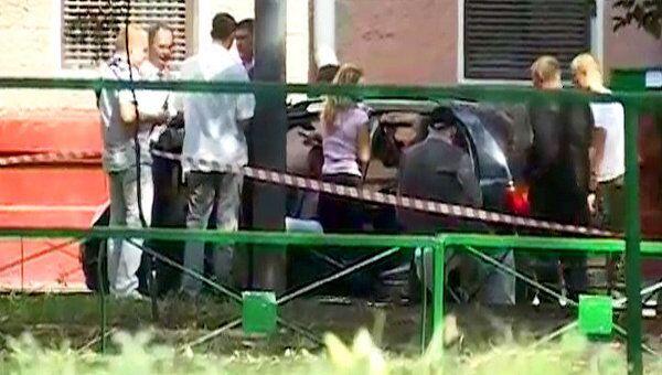Подполковник полиции убит на юго-востоке Москвы. Видео с места ЧП