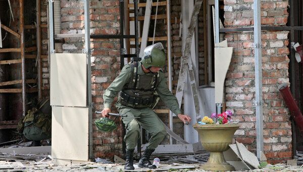 Взрывы в Грозном