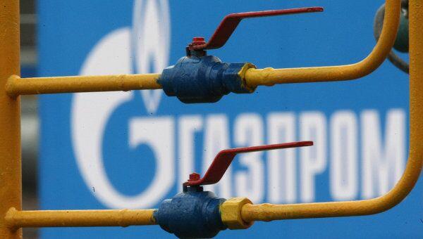 Магистральный газопровод Газпрома. Архив