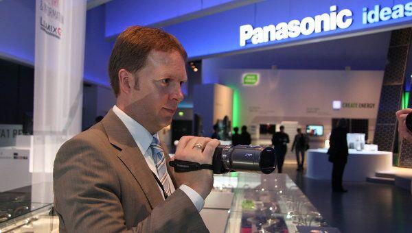 Павильон Panasonic на выставке. Архивное фото